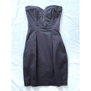 Aritzia | Talula Grey Strapless Dress Size 00